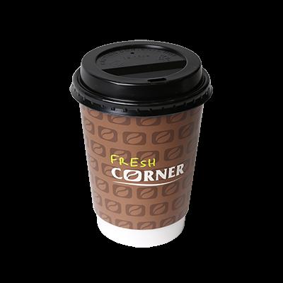 Bela kava z okusom karamele