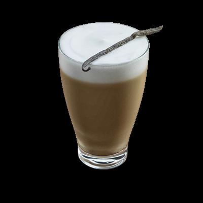 Latte macchiato vanilija