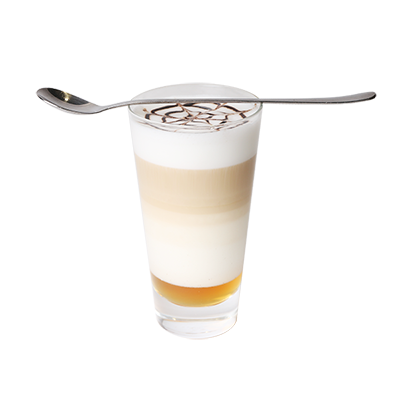 Latte macchiato toffifee
