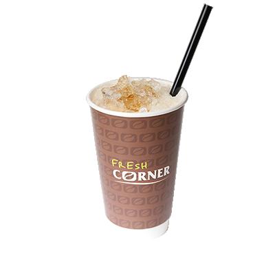 Ledena kava z okusom vanilije