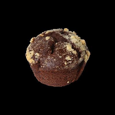 Čoko muffin z gozdnimi sadeži