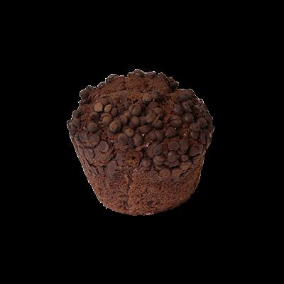 Muffin s čokolado