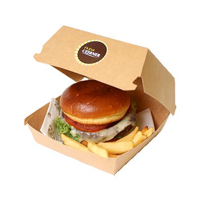 Burger + krompirček